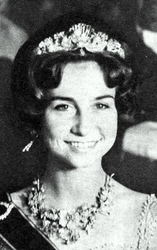 Princess Sophia. May 1962, Athens.